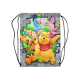 Pooh n Friends Medium Drawstring Bag