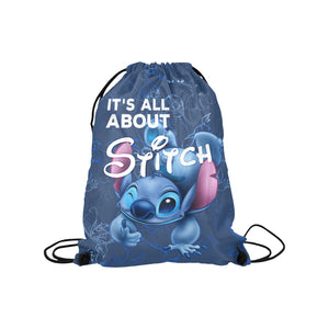 St Medium Drawstring Bag