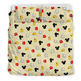 Mickey Bedding set (Black)