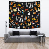 All Dogs Tapestry