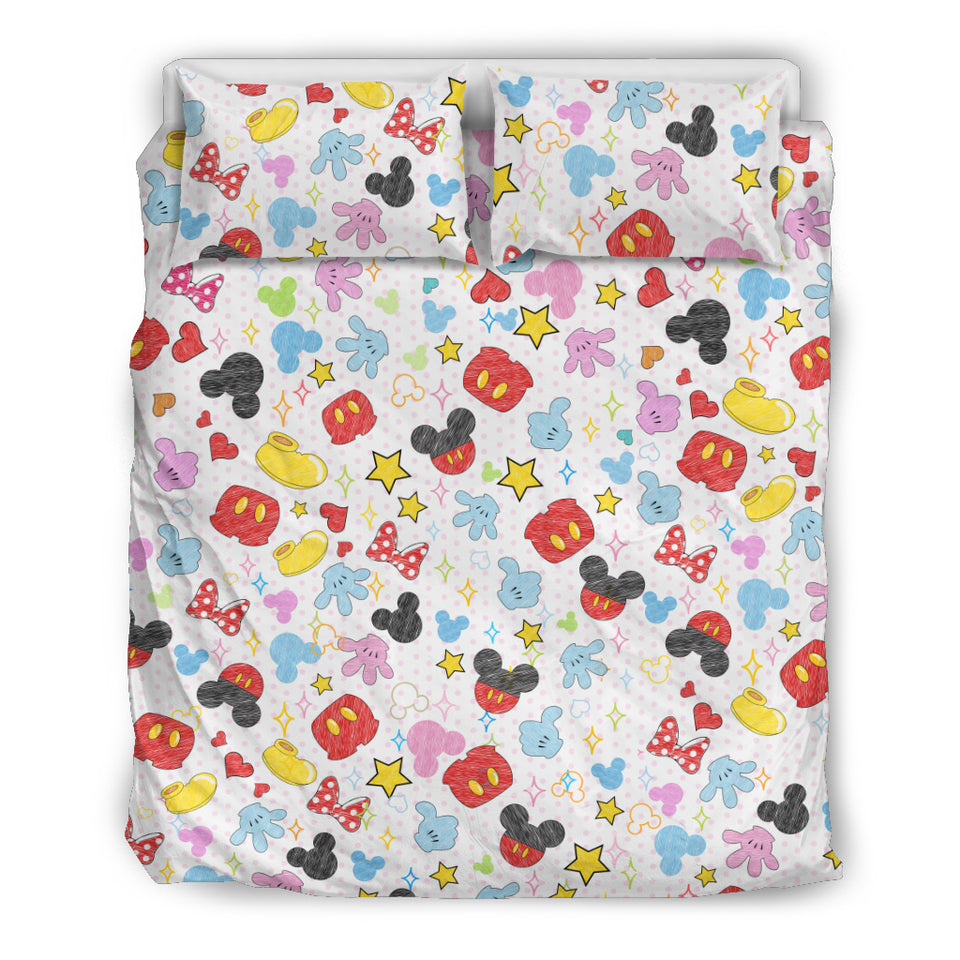 Mk & Mn Bedding Set