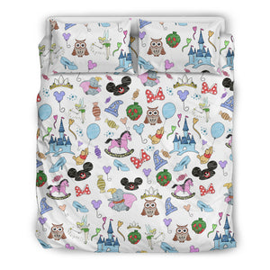 Disney Hats Bedding Set