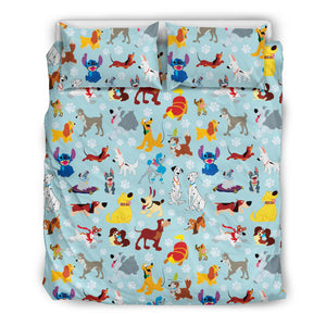 Dogs Bedding Set