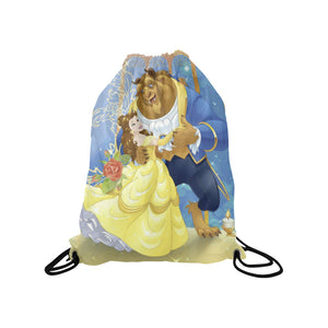 Beauty & The Beast Medium Drawstring
