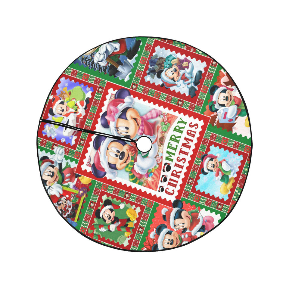 Mickey Christmas Tree Skirt