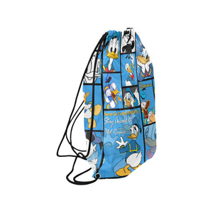 Donald Duck Medium Drawstring Bag