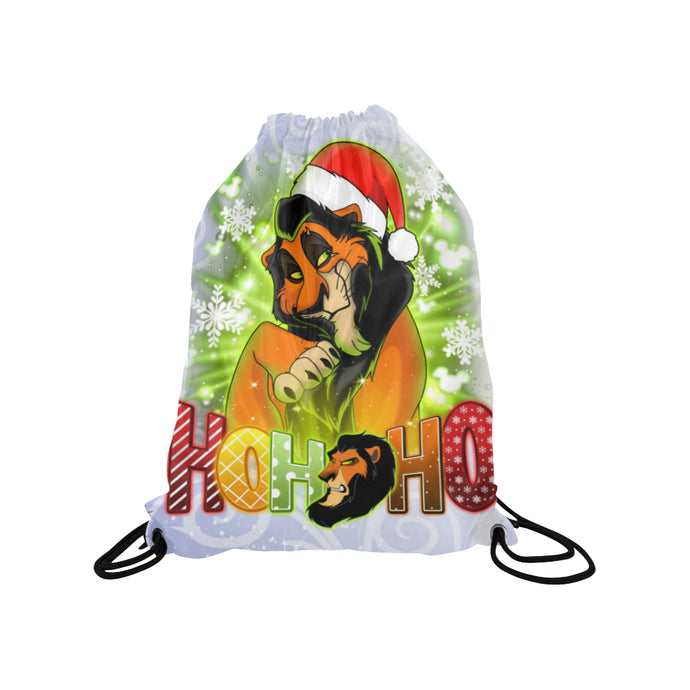 Scar Medium Drawstring Bag