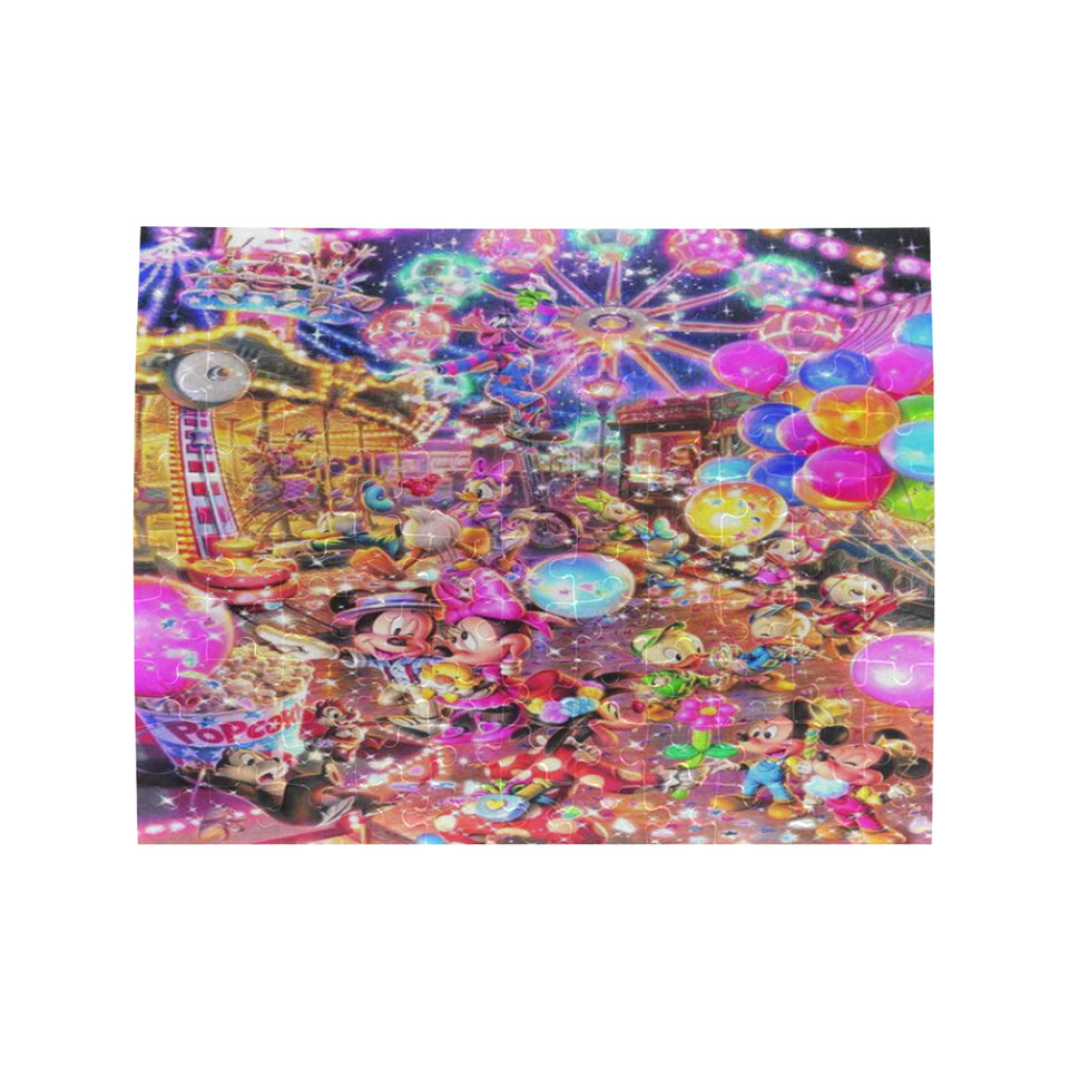 Mk Happy Rectangle Jigsaw Puzzle (Set of 110 Pieces)