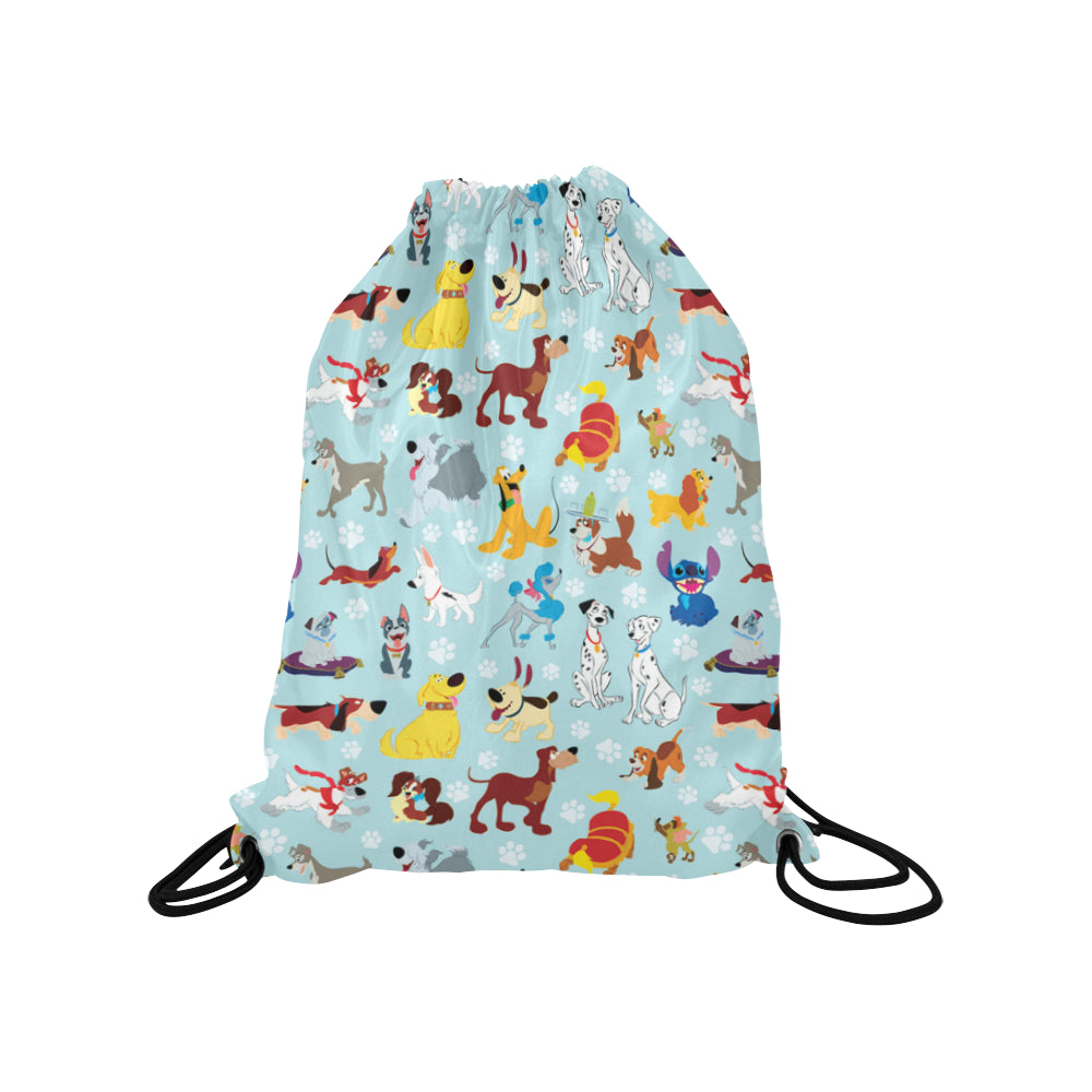 Disney Dogs Medium Drawstring Bag
