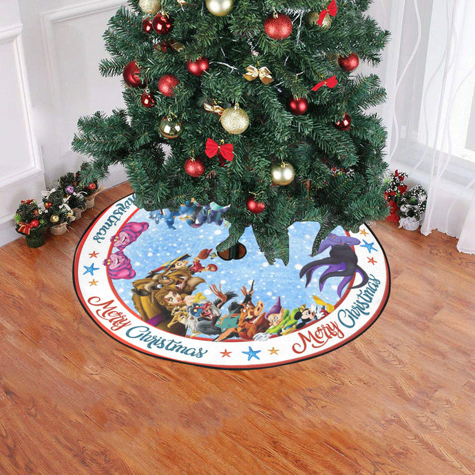 Disney Characters Christmas Tree Skirt