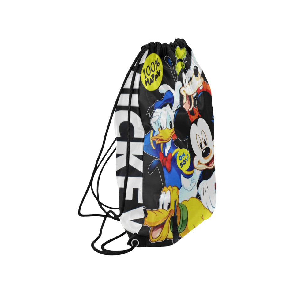 Mickey And Friends Medium Drawstring Bag