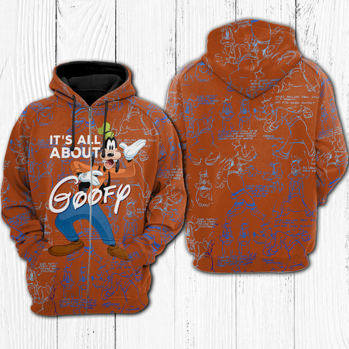 IT'S ALL ABOUT GOOFY HOODIE