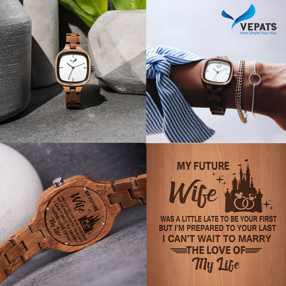 [Wooden Watch] MY WIFE, THE LOVE OF MY LIFE