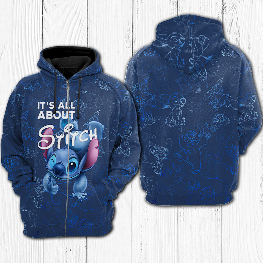 IT'S ALL ABOUT STITCH HOODIE