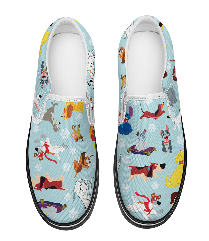 DN Dogs Slip-on Sneakers