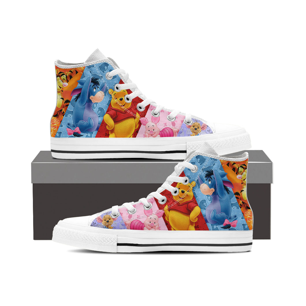 Winnie the Pooh High Top Shoe