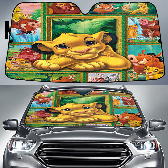 LION KING AUTO SUN SHADE