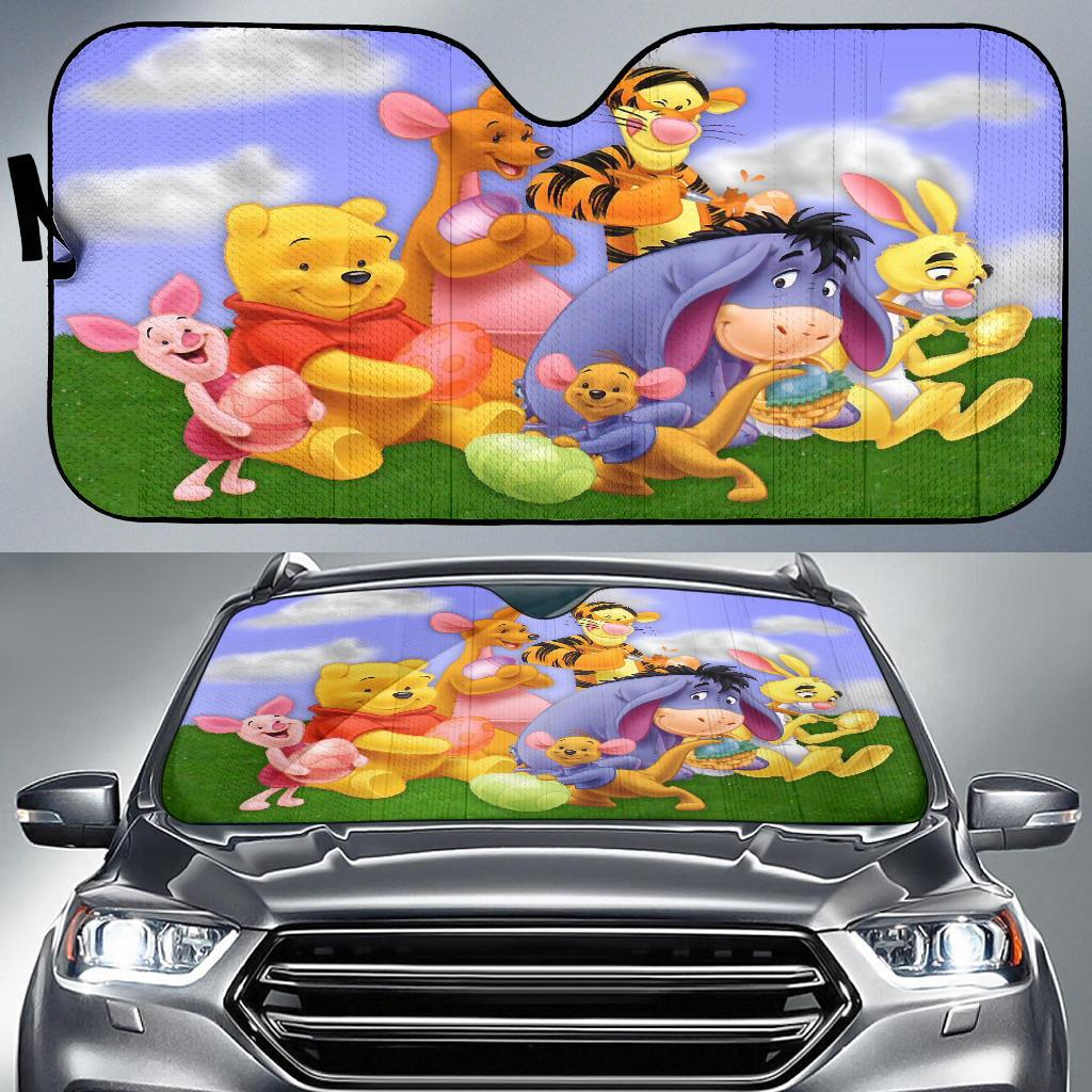 Po AND FRIENDS AUTO SUN SHADE