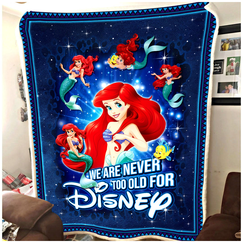 Ar Never old for Disney - Premium Blanket