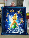 Tkb Never old for Disney - Premium Blanket