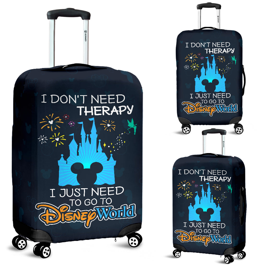 I don't need... luggage covers