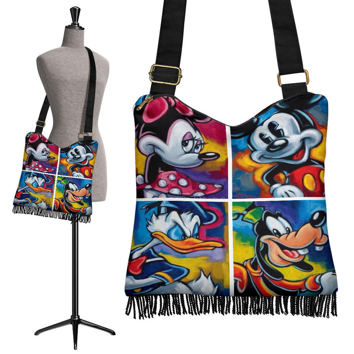 Best Friends Disney Boho Handbag