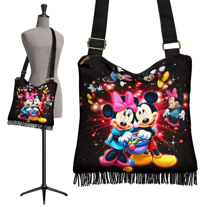 Mickey Minnie Boho Handbag