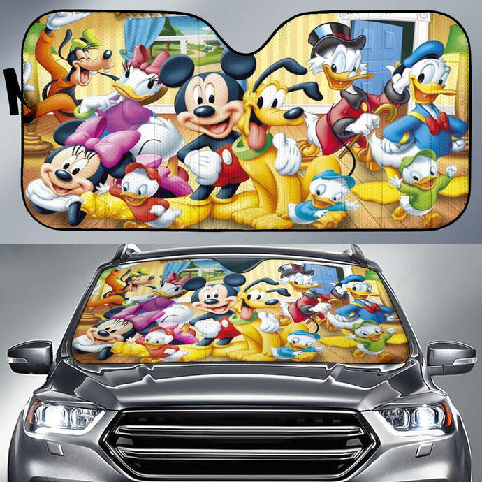 MK AND FRIENDS AUTO SUN SHADE