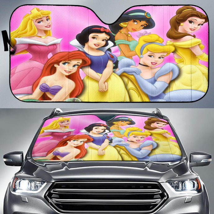 Princesses Dn Auto Sun Shade