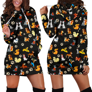All Disney Dogs- Hoodie Dress