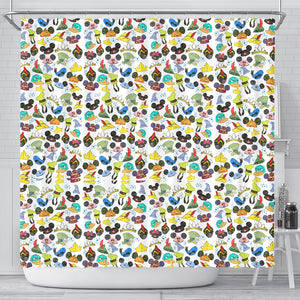 Disney Shower Curtains