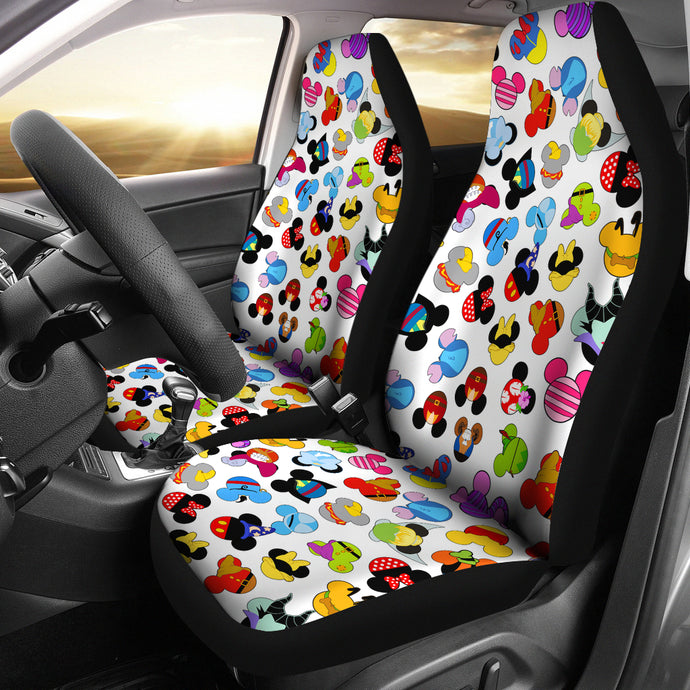 Mickey Head Car Seat Cover