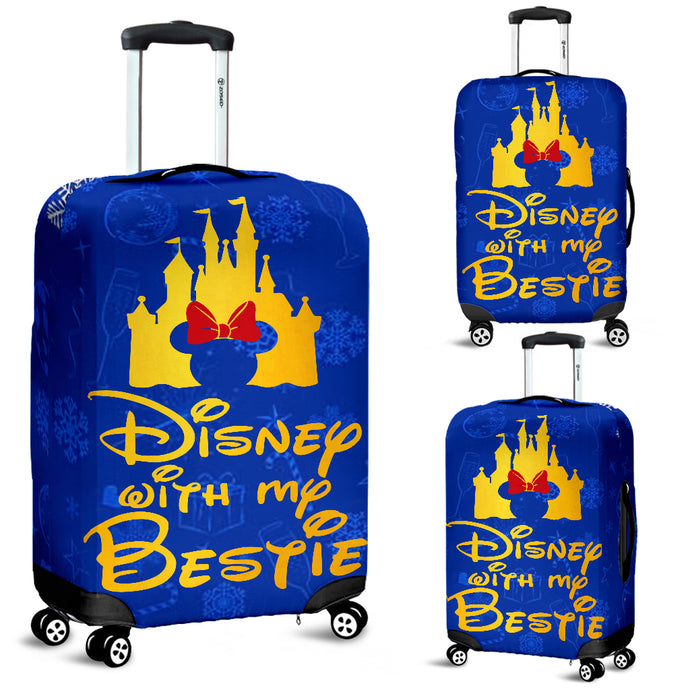 Disney With My Bestie - Luggage Covers