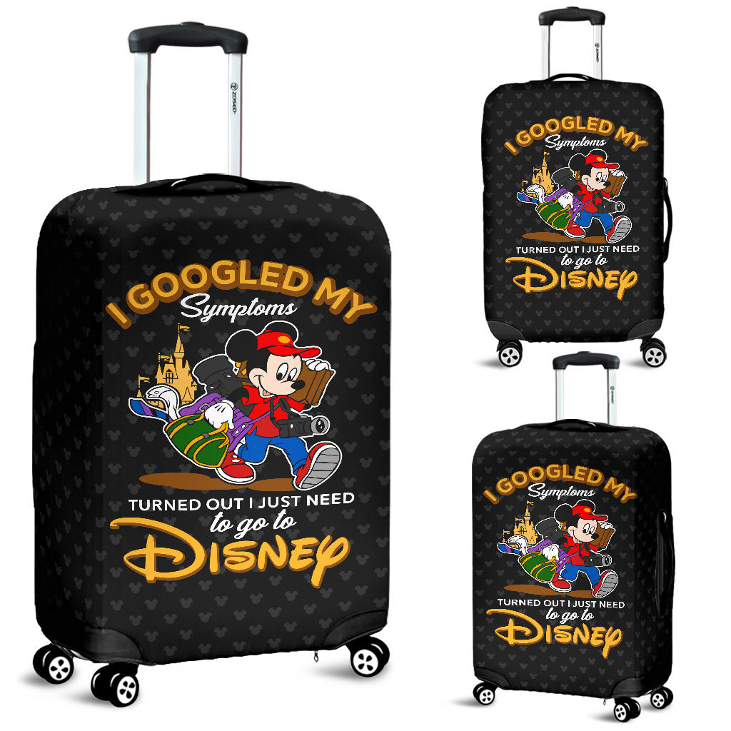 Mickey to go to Disney Luggage Covers