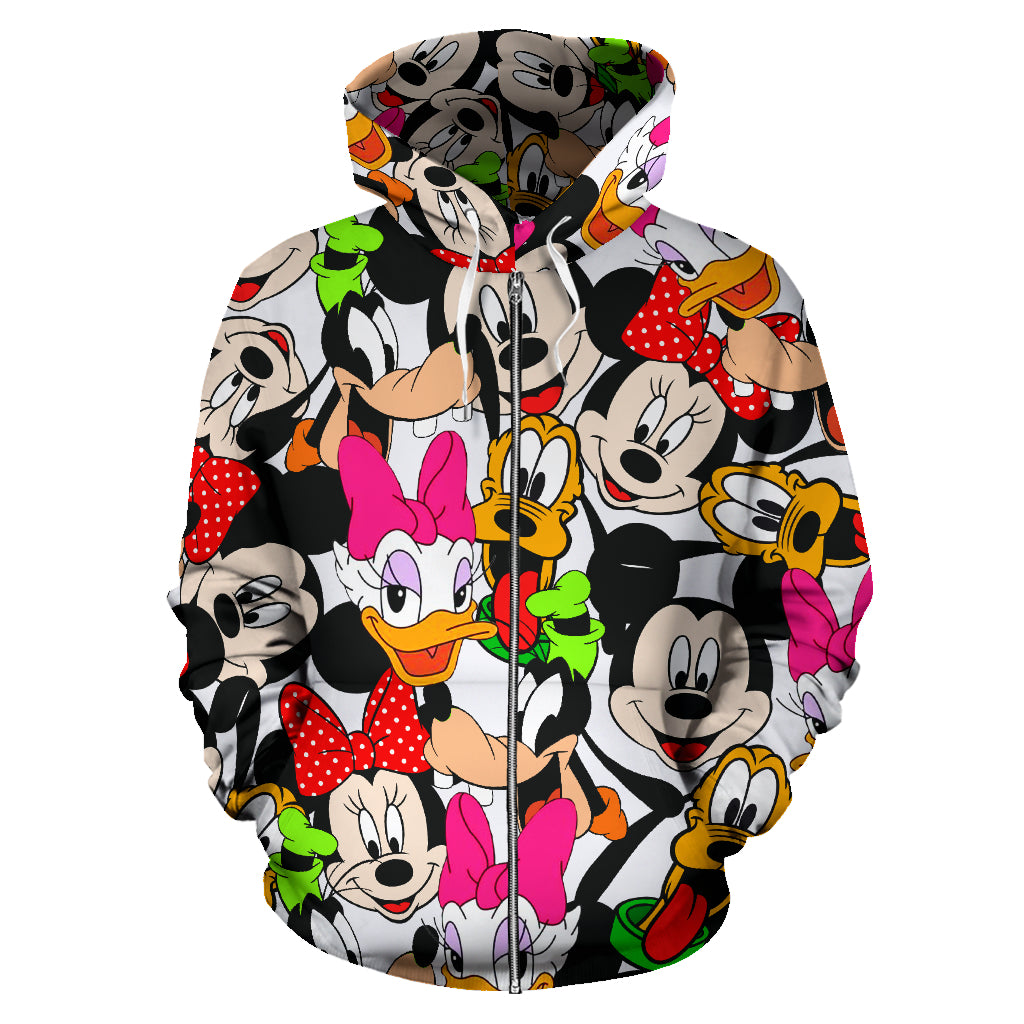 Disney Land Zip - Up Hoodie