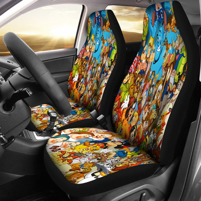 Character DN Car seat cover