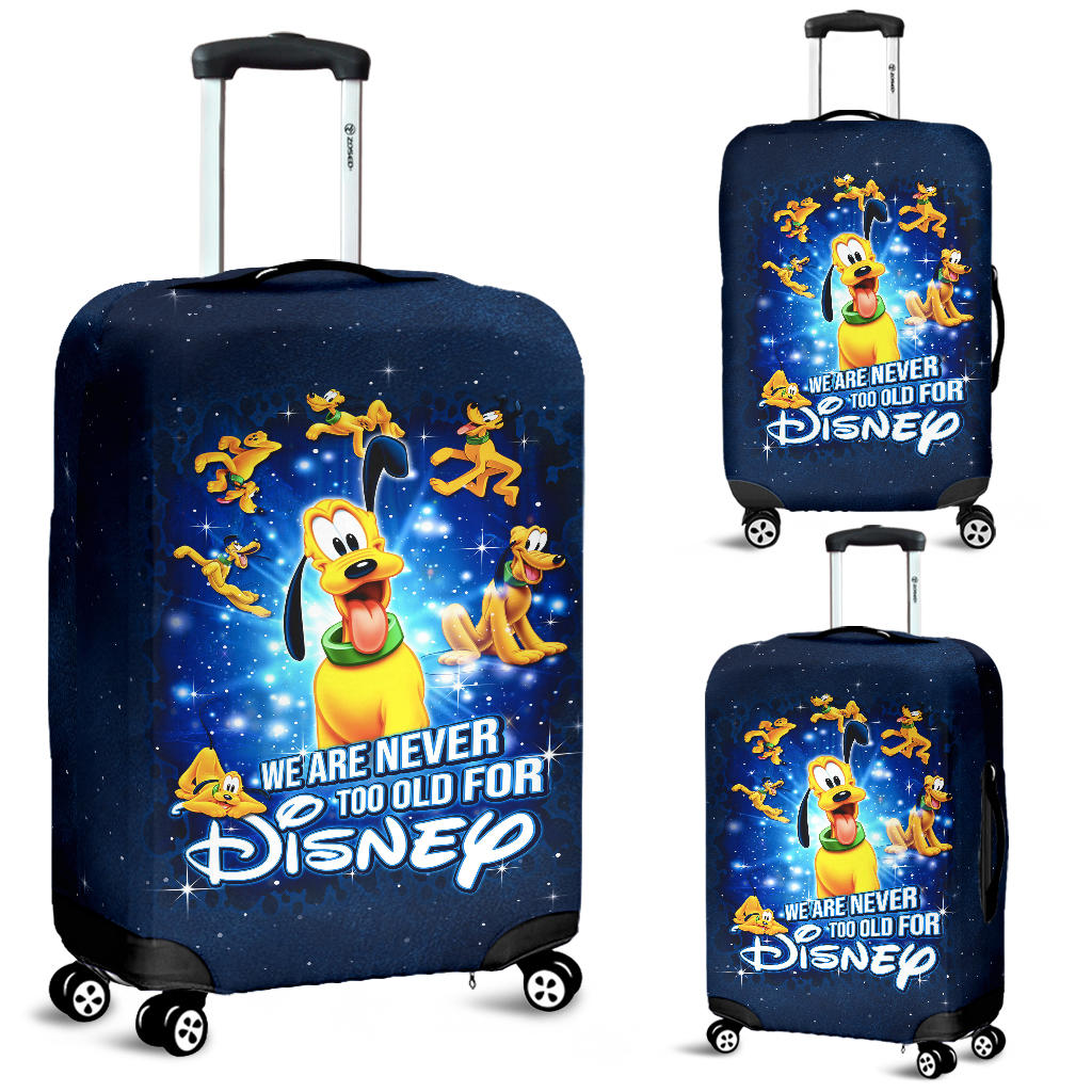 Plu Disney Luggage Cover