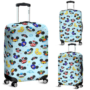 All Hats Luggage Cover