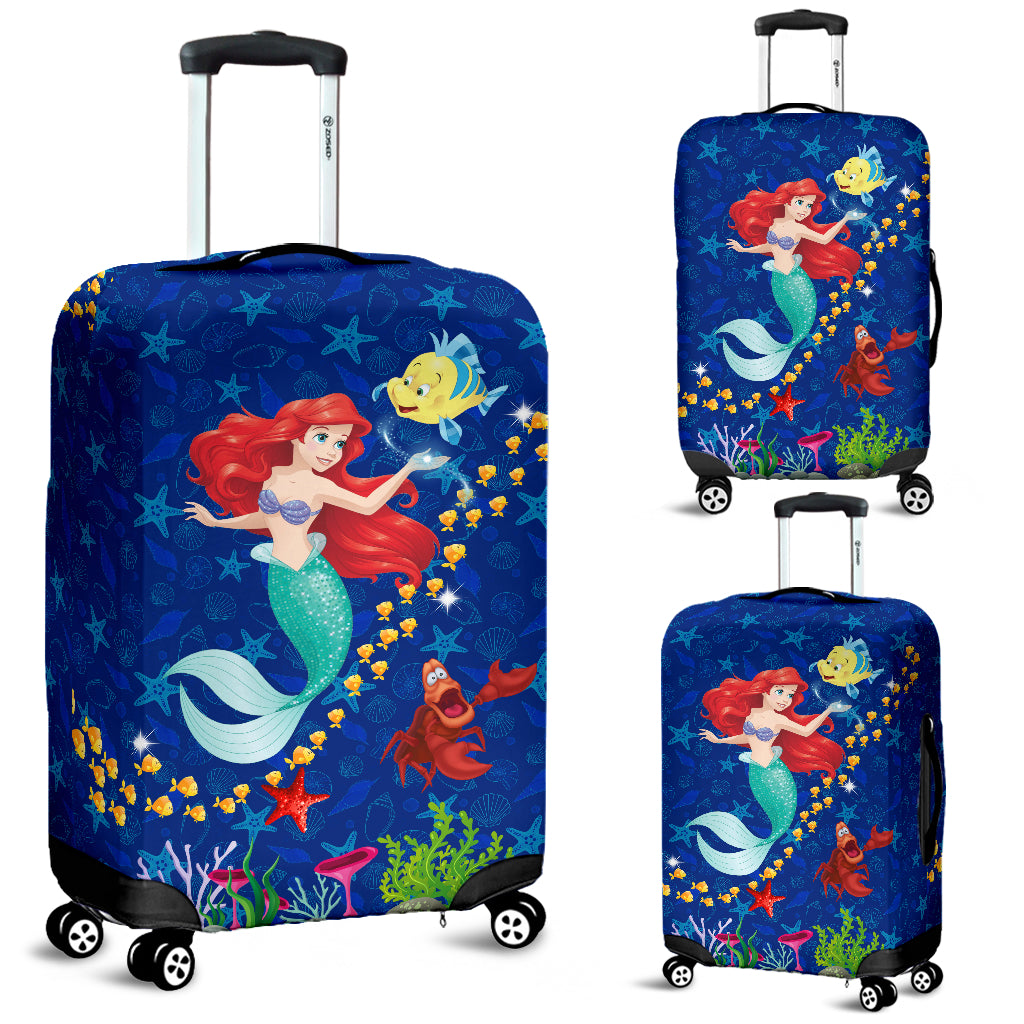 LT - Mermaid Luggage Cover