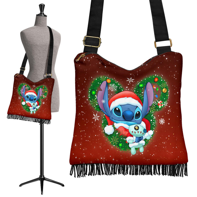 Stitch Christmas Boho Handbag