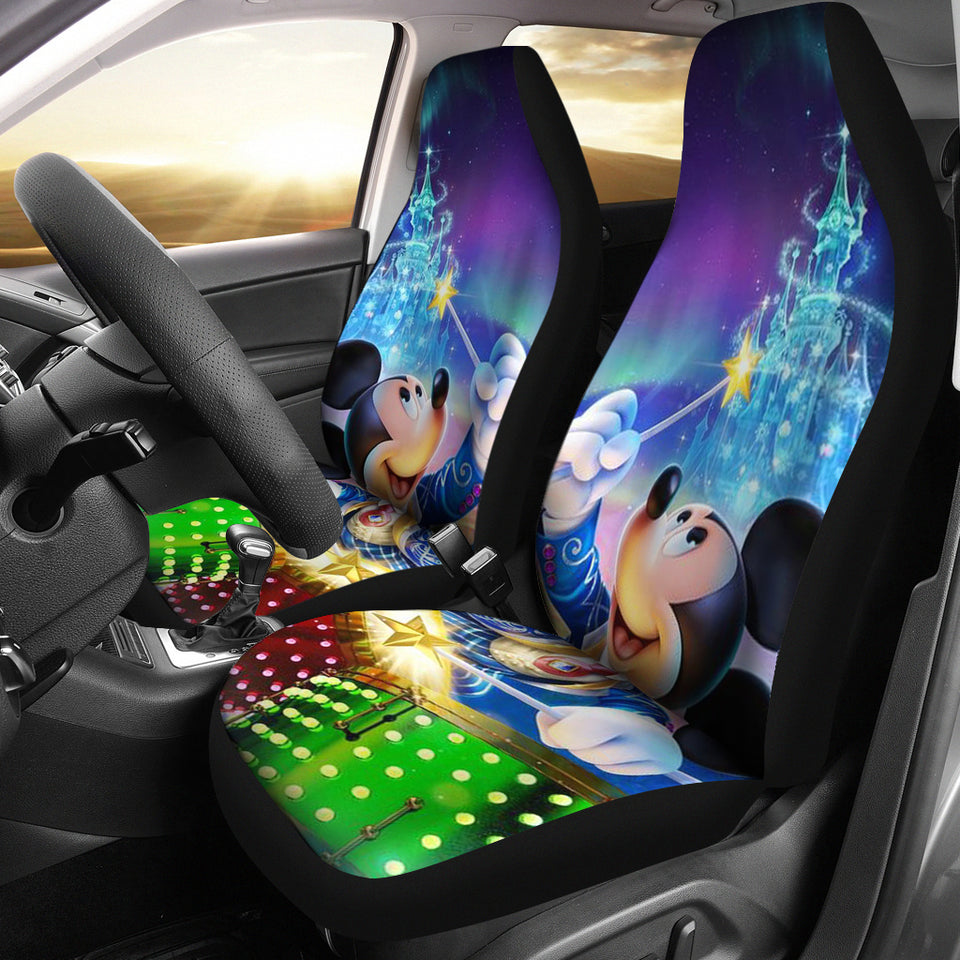MK Mouse Car Seat Covers