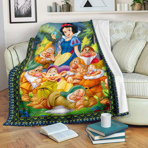 Snow White and 7 Dwarfs - Blanket