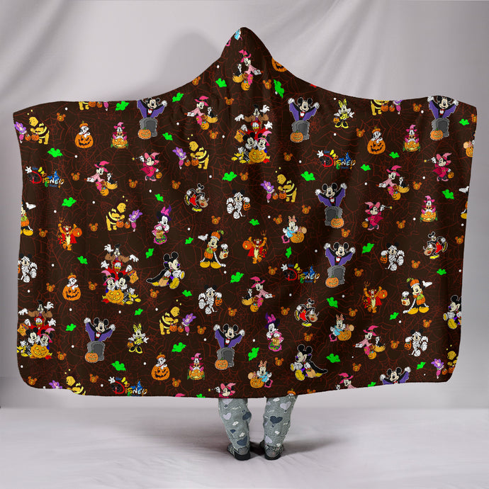 Disney Halloween Hooded Blanket