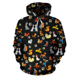 All Disney Dogs - Over Hoodie