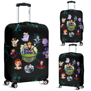 Luggage Cover - Disney Villain