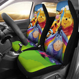 Po and Frineds Car Seat Covers