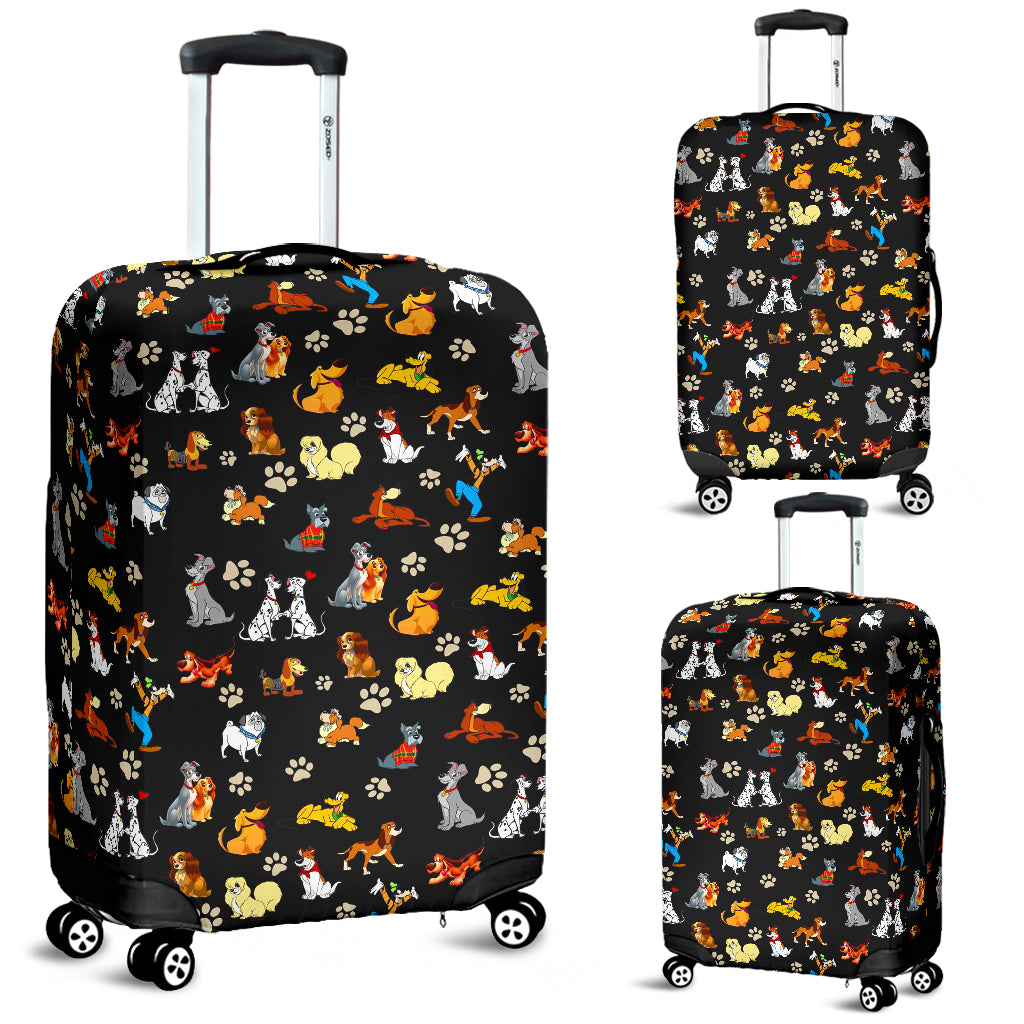 All Disney Dogs - Luggage Cover