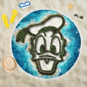 Donald island beach blanket