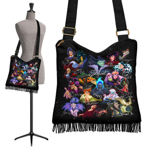 Disney Villains Boho Handbag