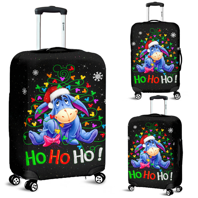 Eeyore Christmas Luggage Covers